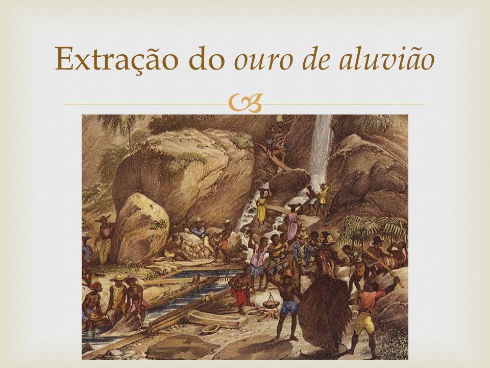 Extração do ouro de aluvião