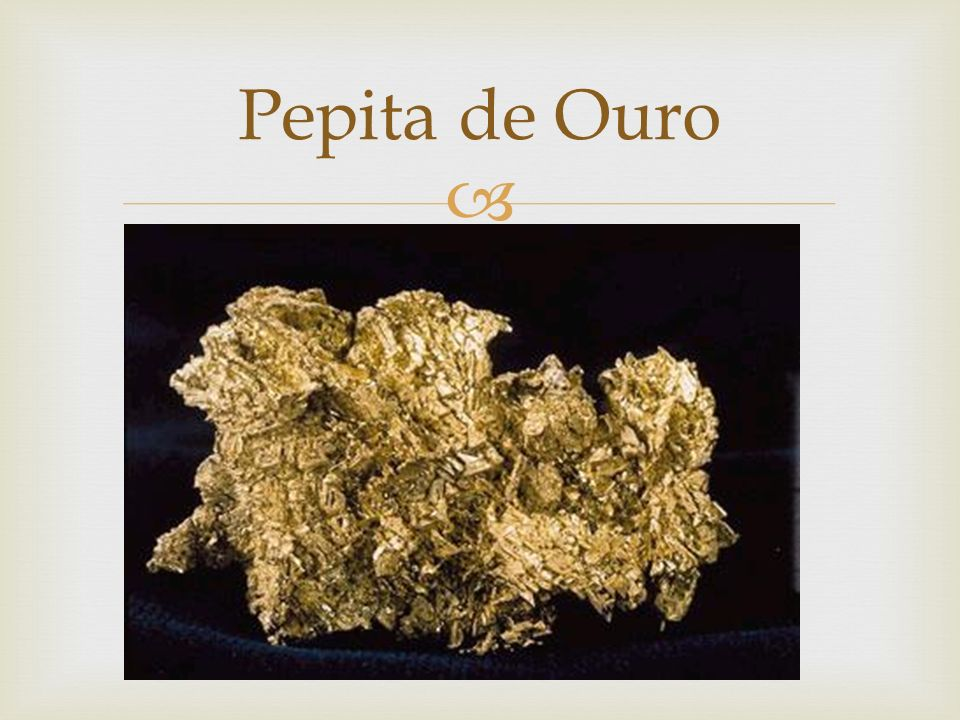 Pepita de Ouro
