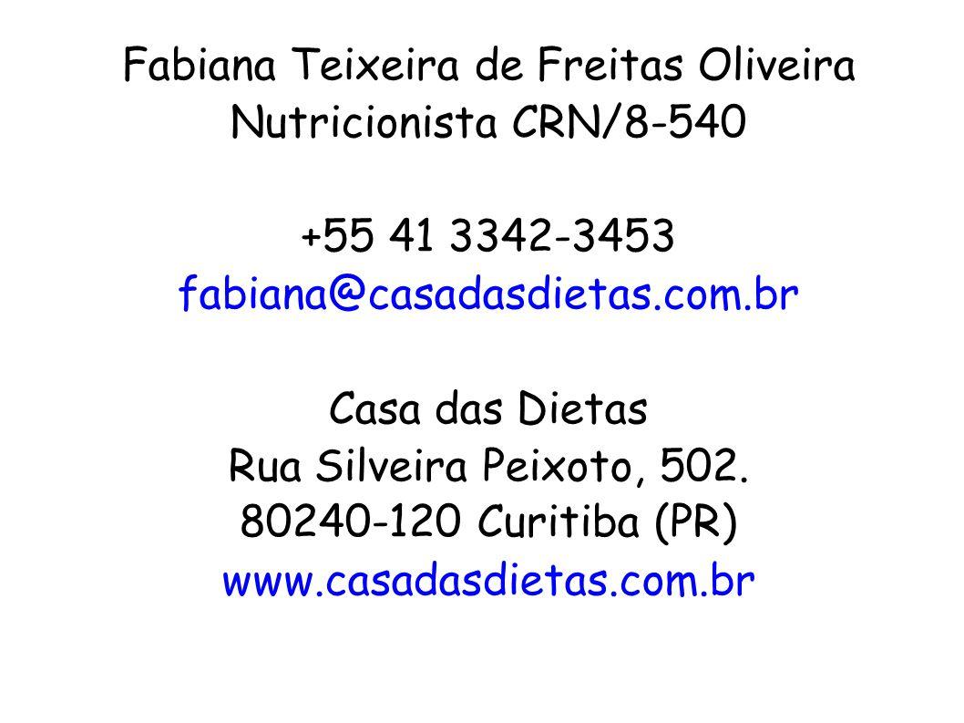 Fabiana Teixeira de Freitas Oliveira