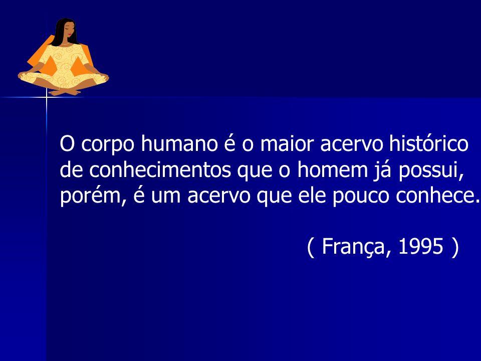 O corpo humano é o maior acervo histórico
