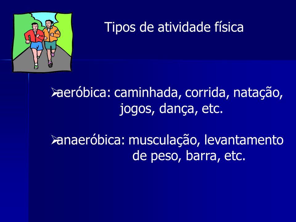 Tipos de atividade física