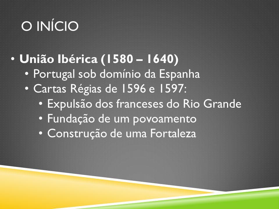 O INÍCIO União Ibérica (1580 – 1640) Portugal sob domínio da Espanha