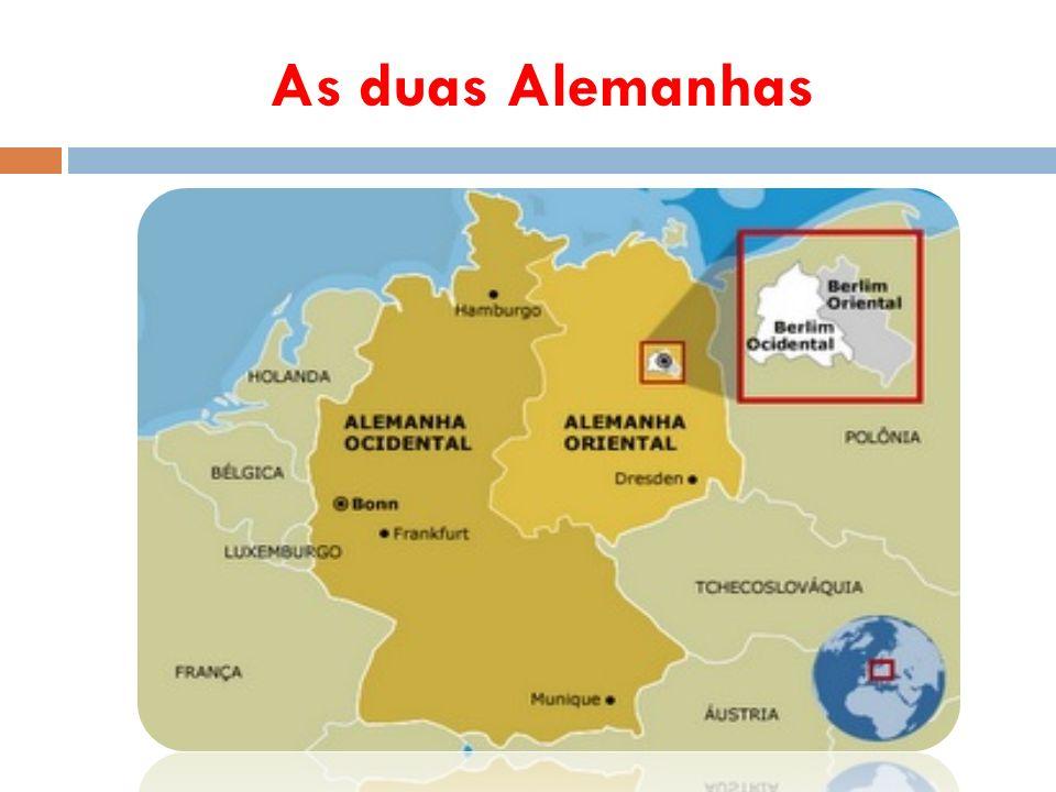 As duas Alemanhas