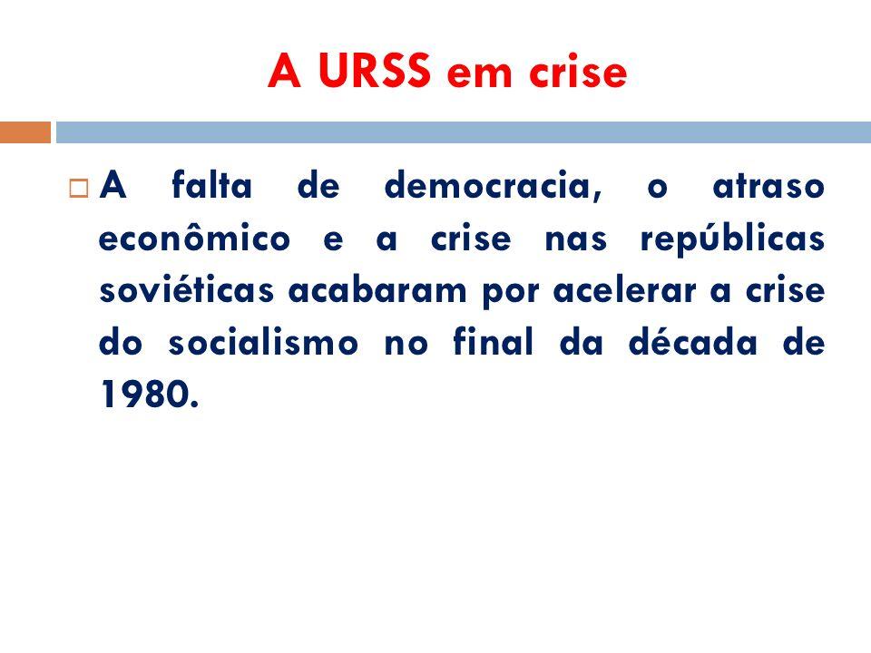 A URSS em crise