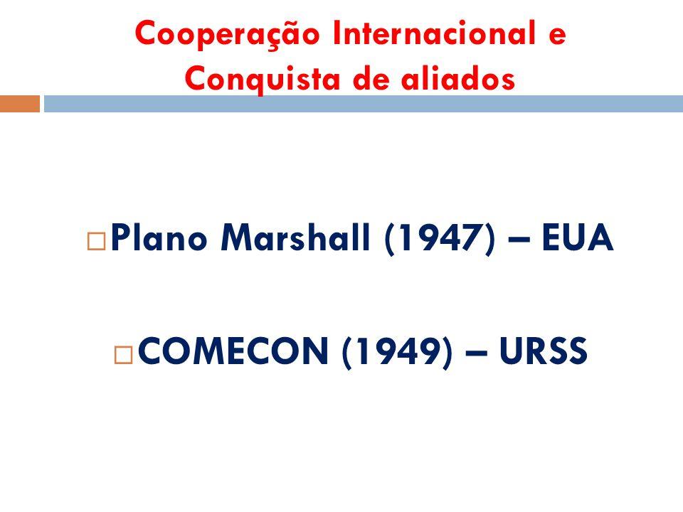 Cooperação Internacional e Conquista de aliados