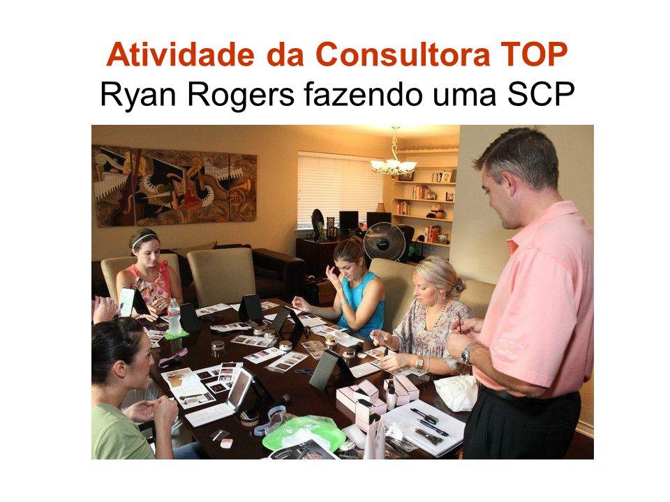 Atividade da Consultora TOP Ryan Rogers fazendo uma SCP