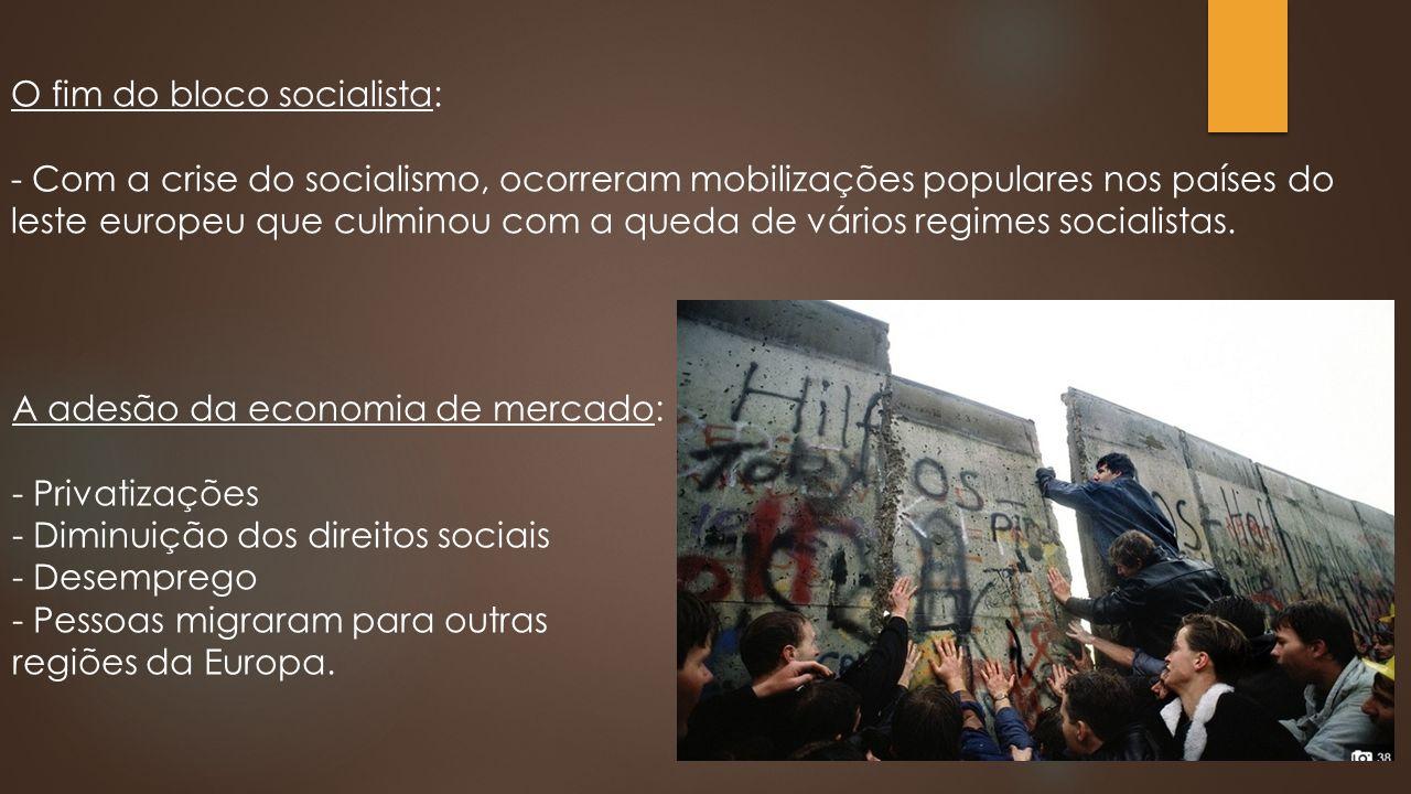 O fim do bloco socialista: