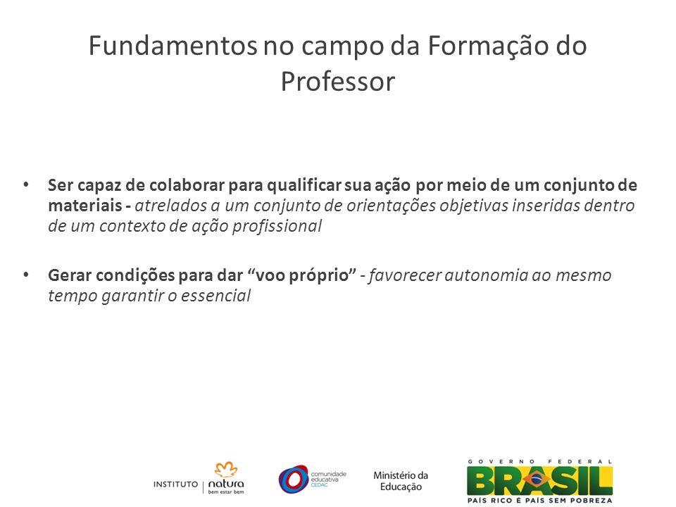 Fundamentos no campo da Formação do Professor