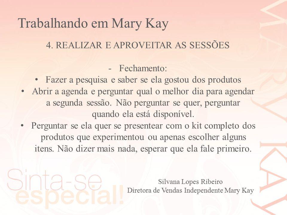 Trabalhando em Mary Kay