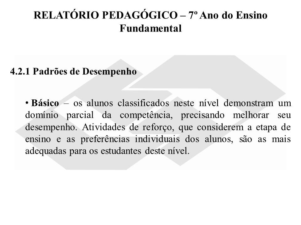 Super RELATÓRIO PEDAGÓGICO - MATEMÁTICA 4º ANO DO ENSINO FUNDAMENTAL  NK59