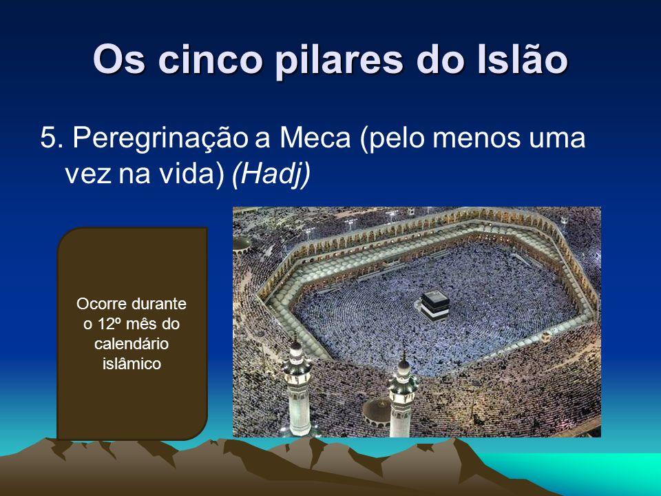 Os cinco pilares do Islão