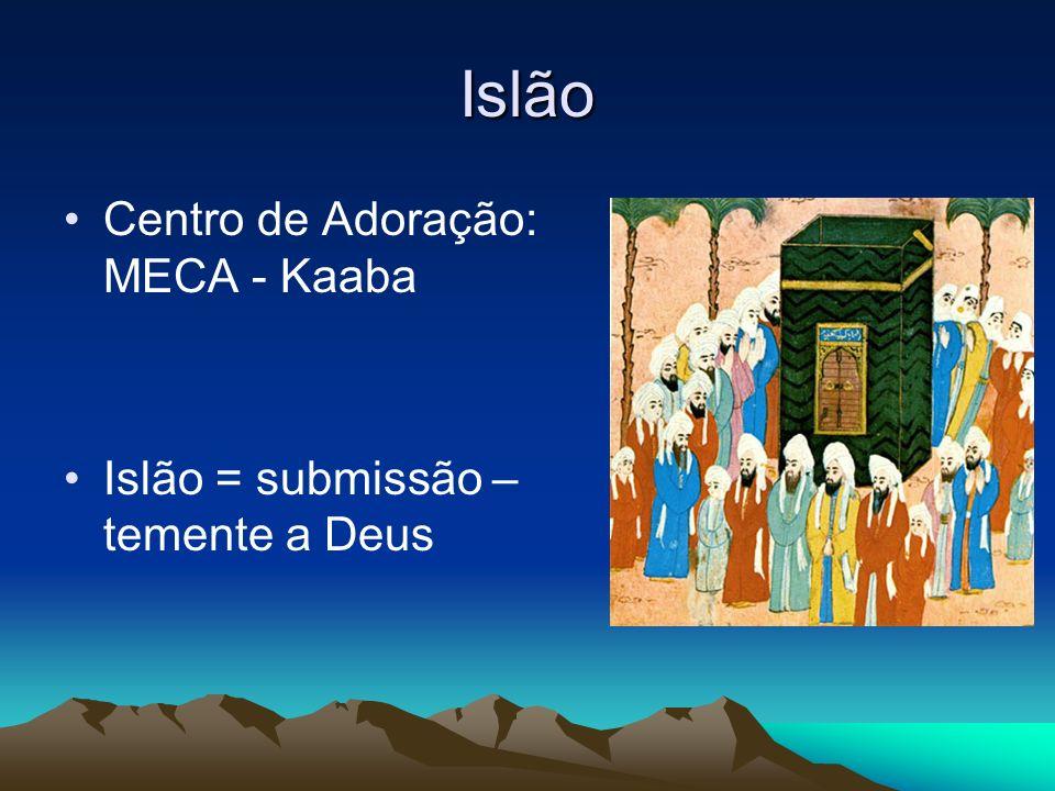 Islão Centro de Adoração: MECA - Kaaba