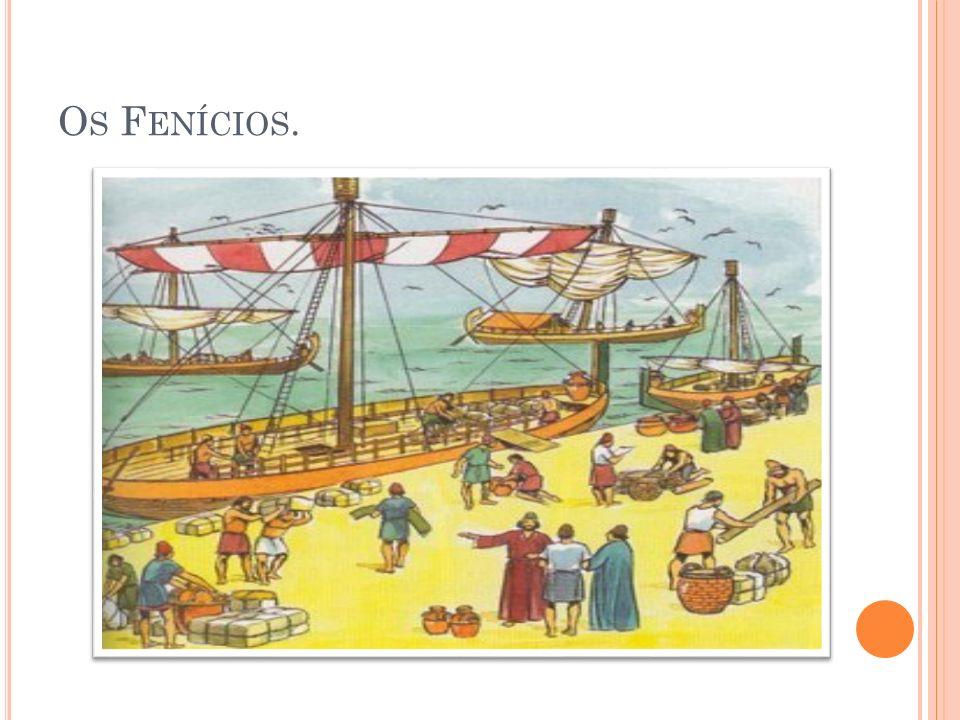 Os Fenícios.