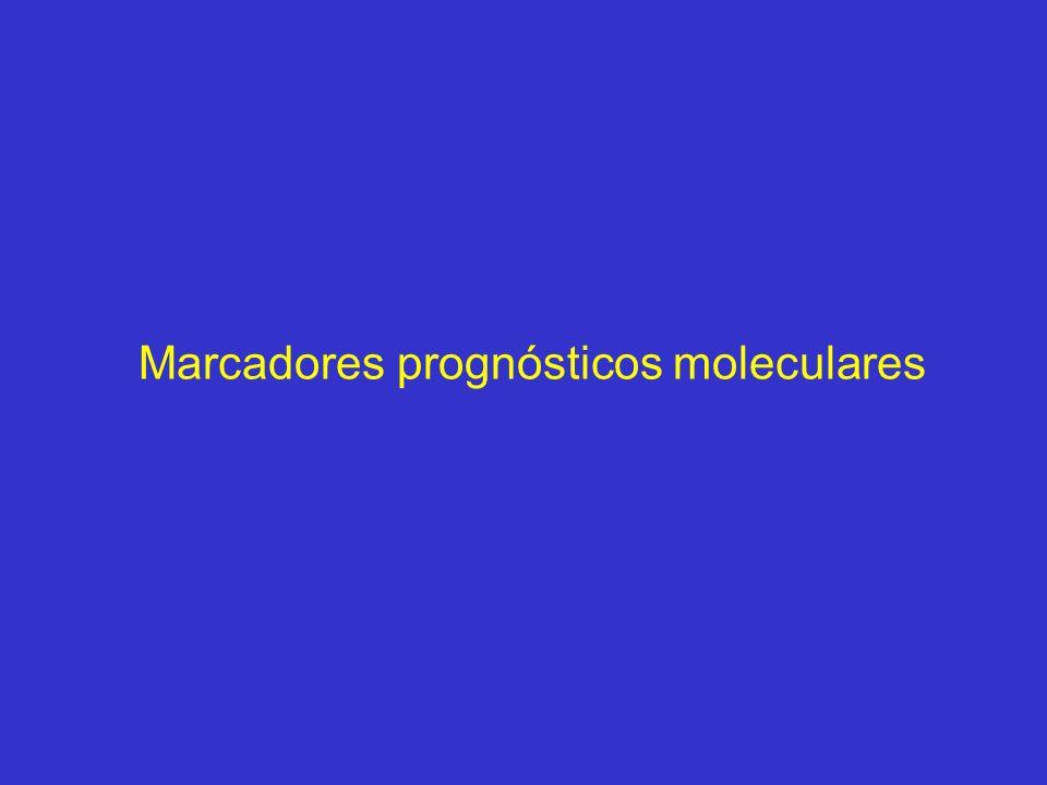 Marcadores prognósticos moleculares