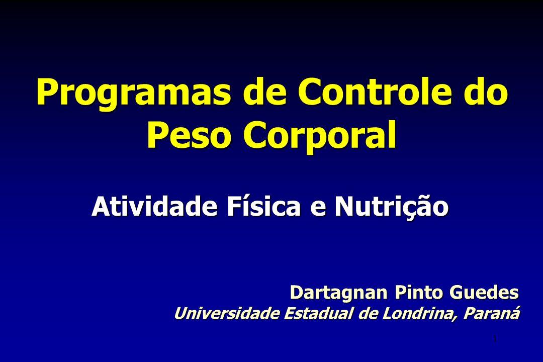 Programas de Controle do Peso Corporal