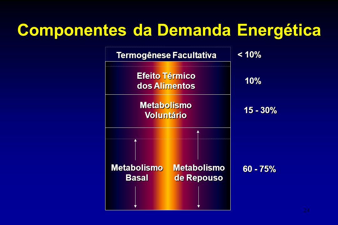 Componentes da Demanda Energética