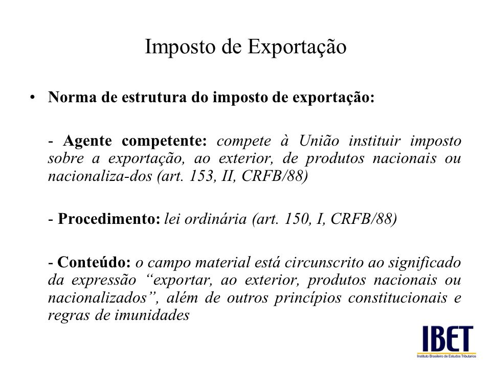 Tributa o internacional ppt video online carregar for Significado exterior
