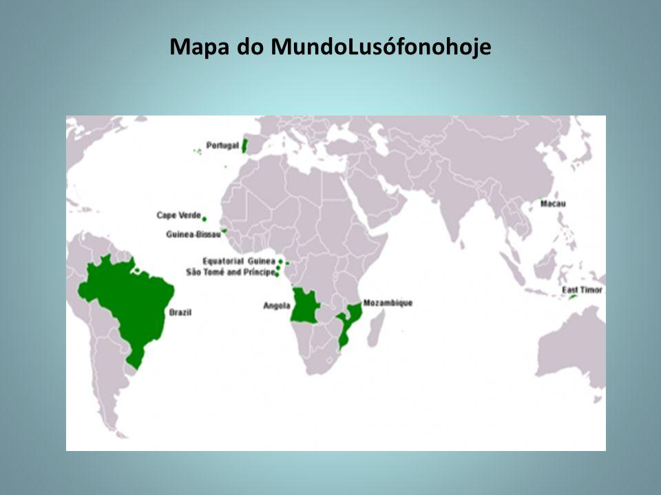 Mapa do MundoLusófonohoje