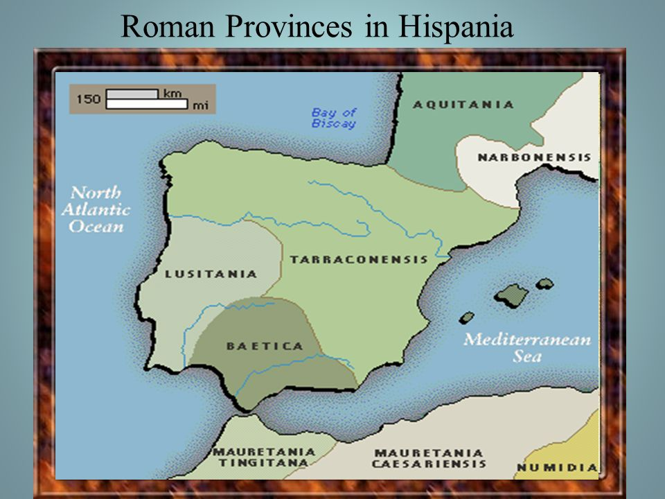 Roman Provinces in Hispania