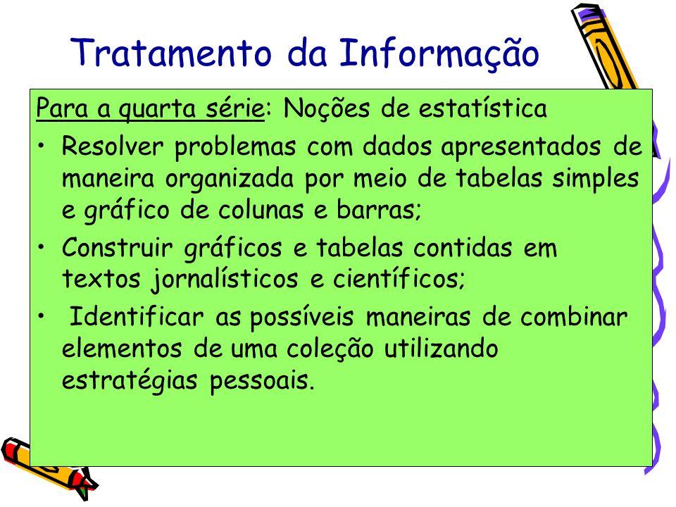 Tratamento da Informação