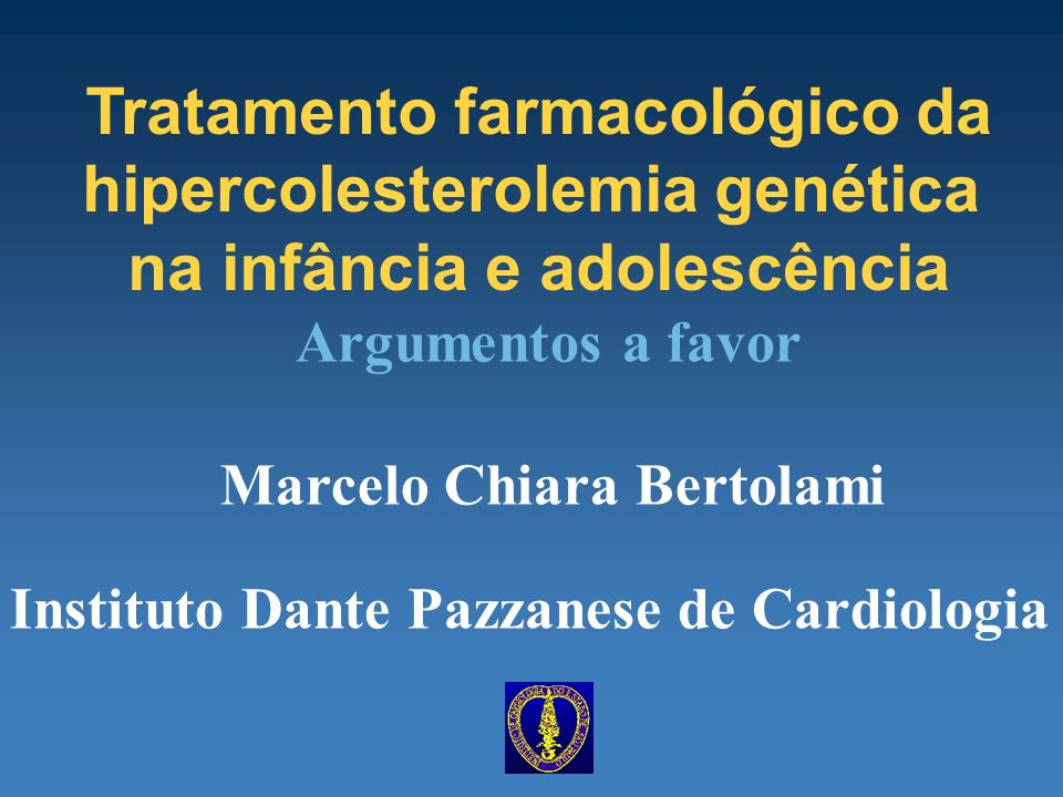 Tratamento farmacológico da hipercolesterolemia genética