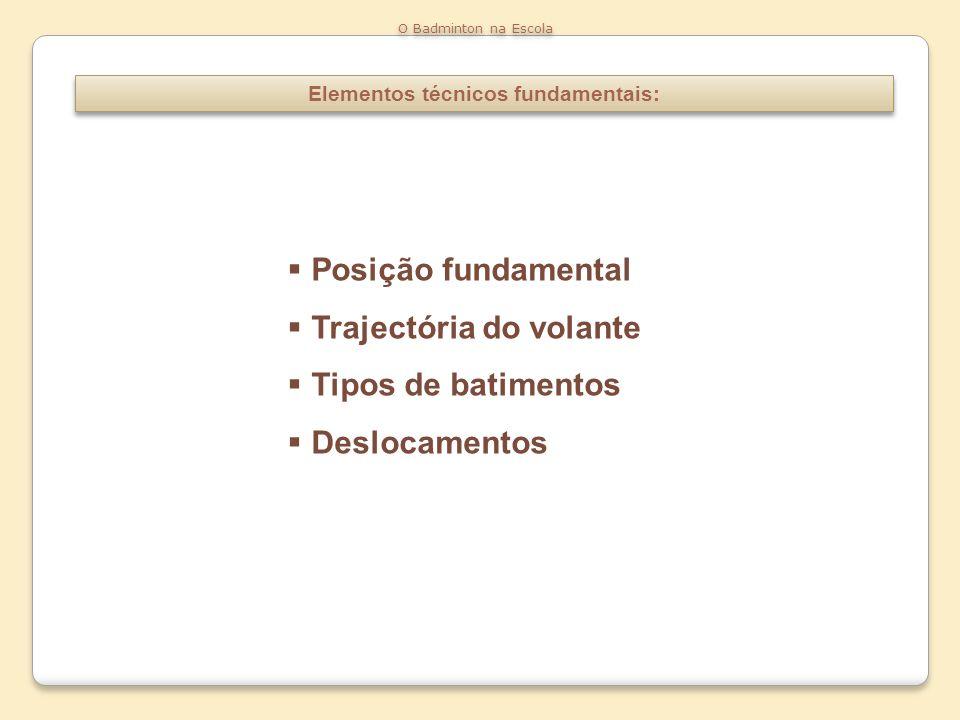 Elementos técnicos fundamentais: