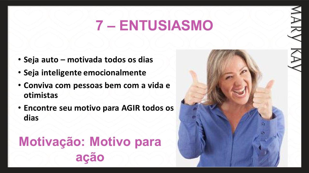 Motivação: Motivo para ação