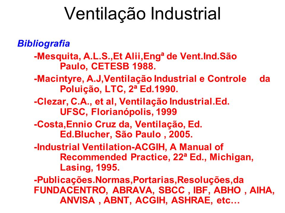 industrial ventilation a manual of recommended practice for design