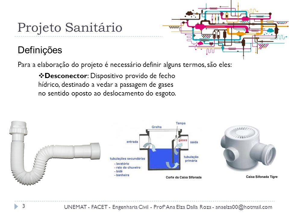 Projeto Sanitário Definições