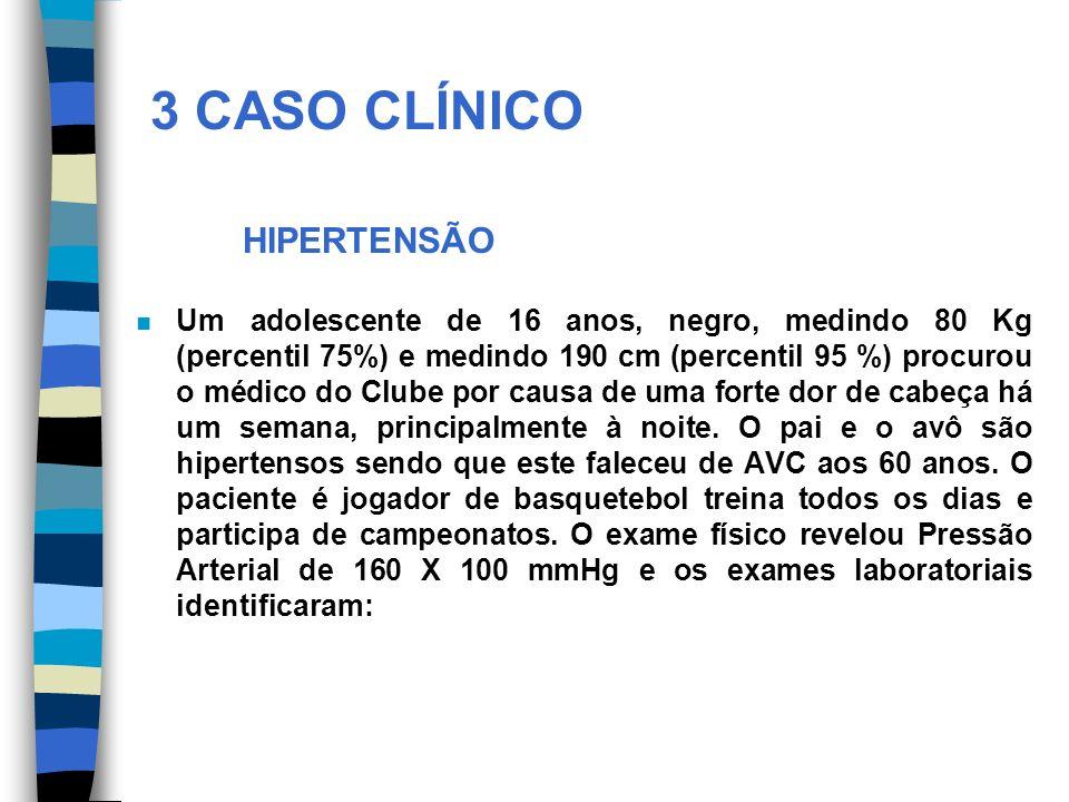 3 CASO CLÍNICO HIPERTENSÃO