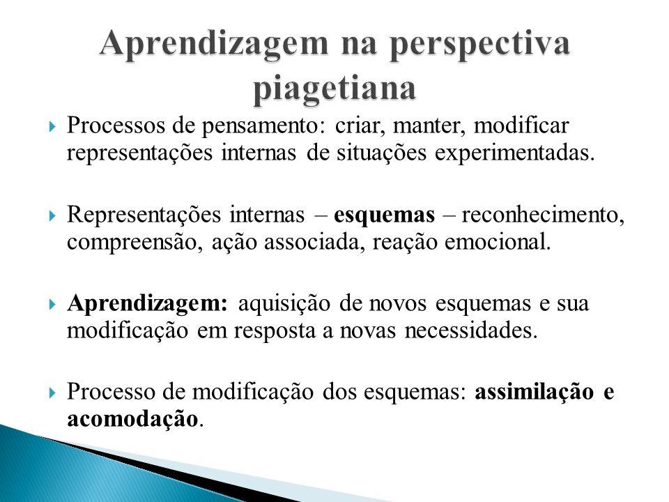 Aprendizagem na perspectiva piagetiana