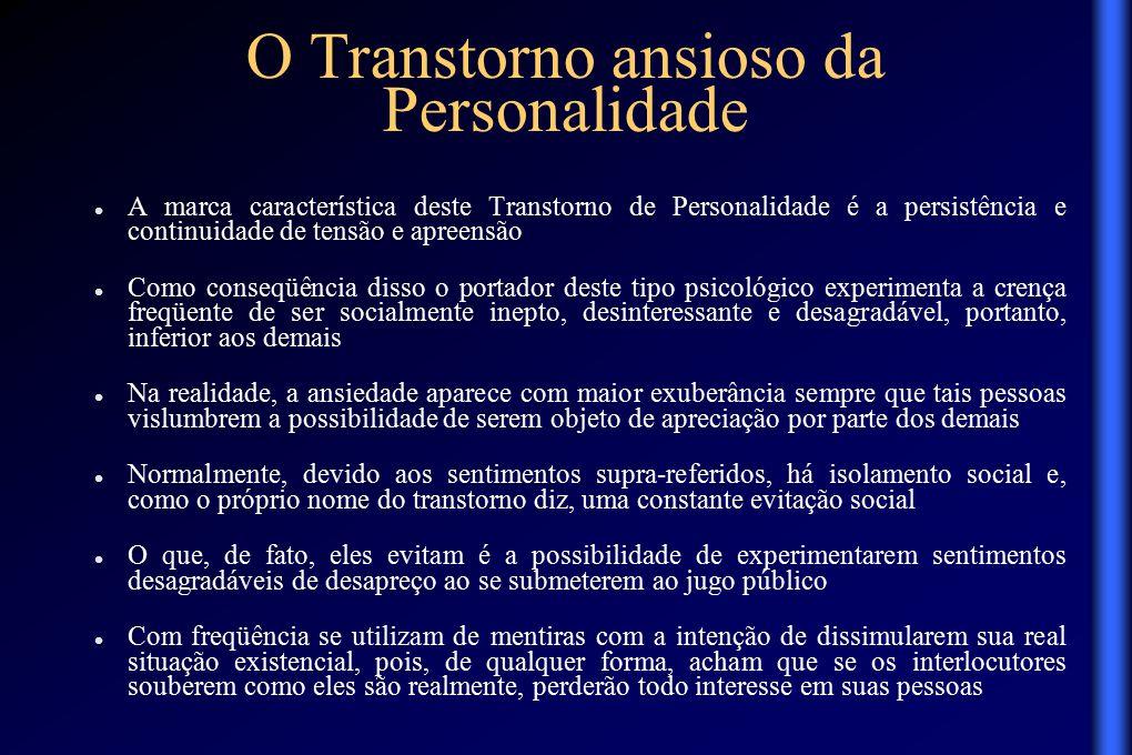 transtornos da personalidade essay O modo borderline será aqui apresentado não exatamente a partir do transtorno  de personalidade borderline (tpb), enquanto categoria nosológica psi.
