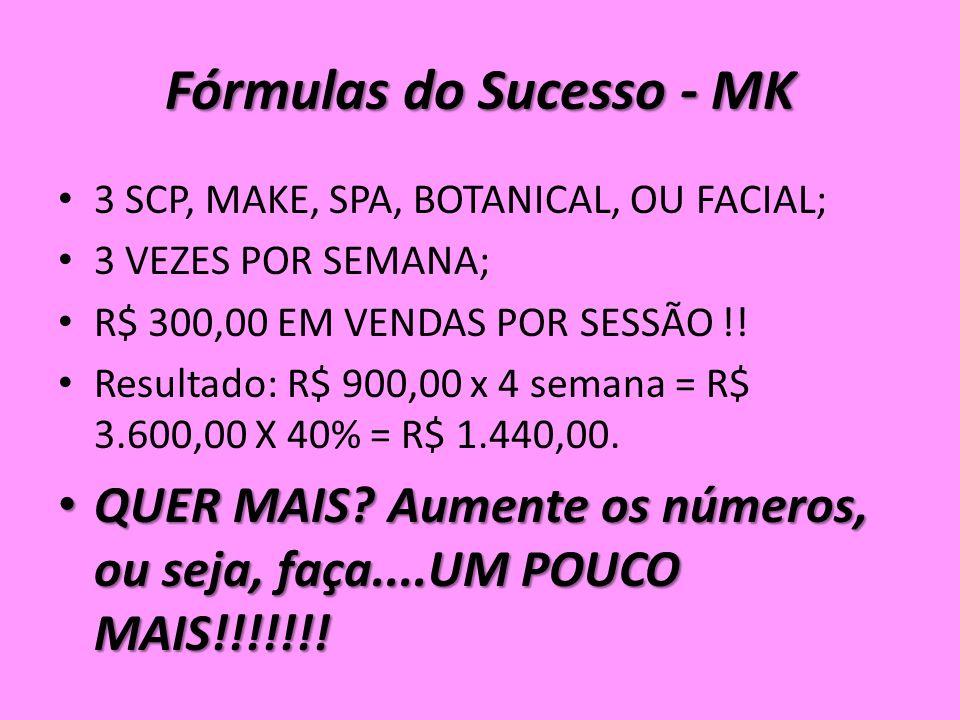 Fórmulas do Sucesso - MK