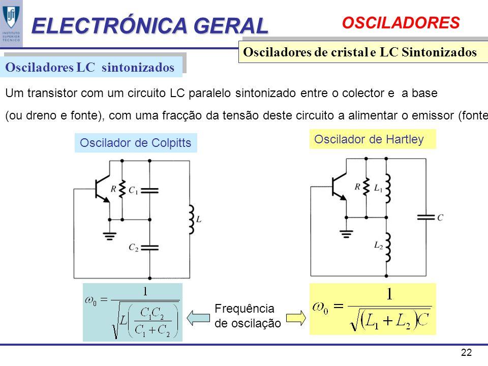 Circuito Lc : Osciladores ppt carregar