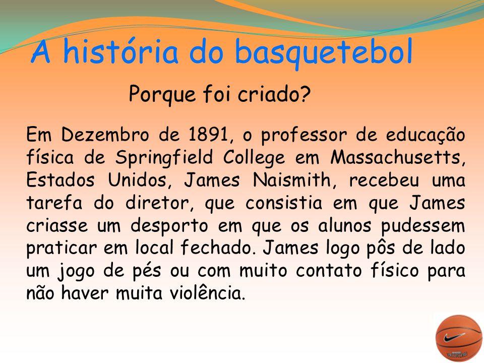 A história do basquetebol