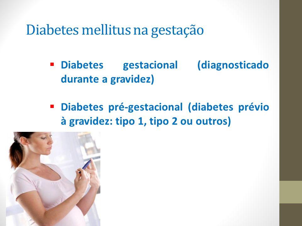Diabetes mellitus na gestação