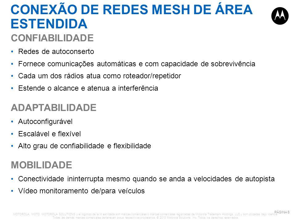 CONEXÃO DE REDES MESH DE ÁREA ESTENDIDA