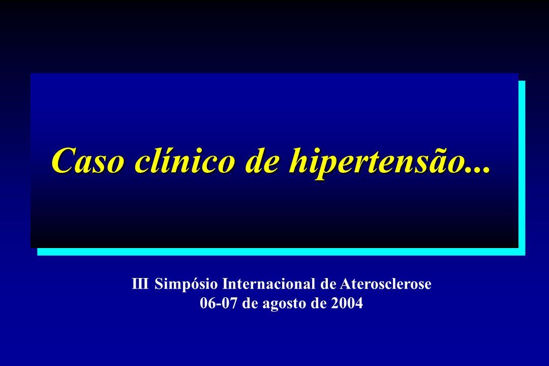 Caso clínico de hipertensão...