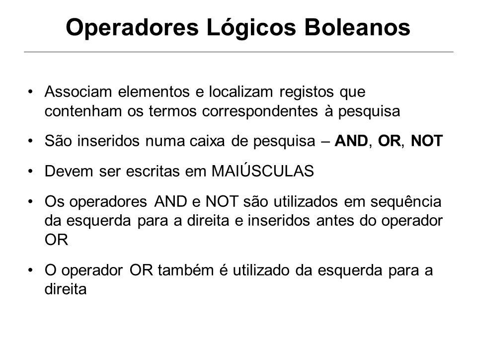 Operadores Lógicos Boleanos