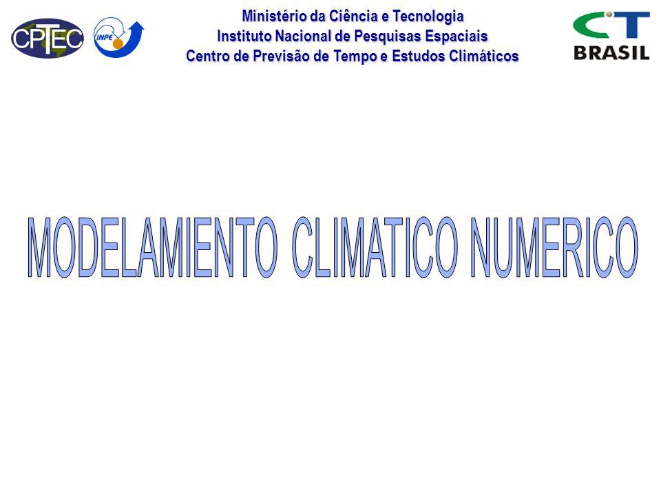 MODELAMIENTO CLIMATICO NUMERICO