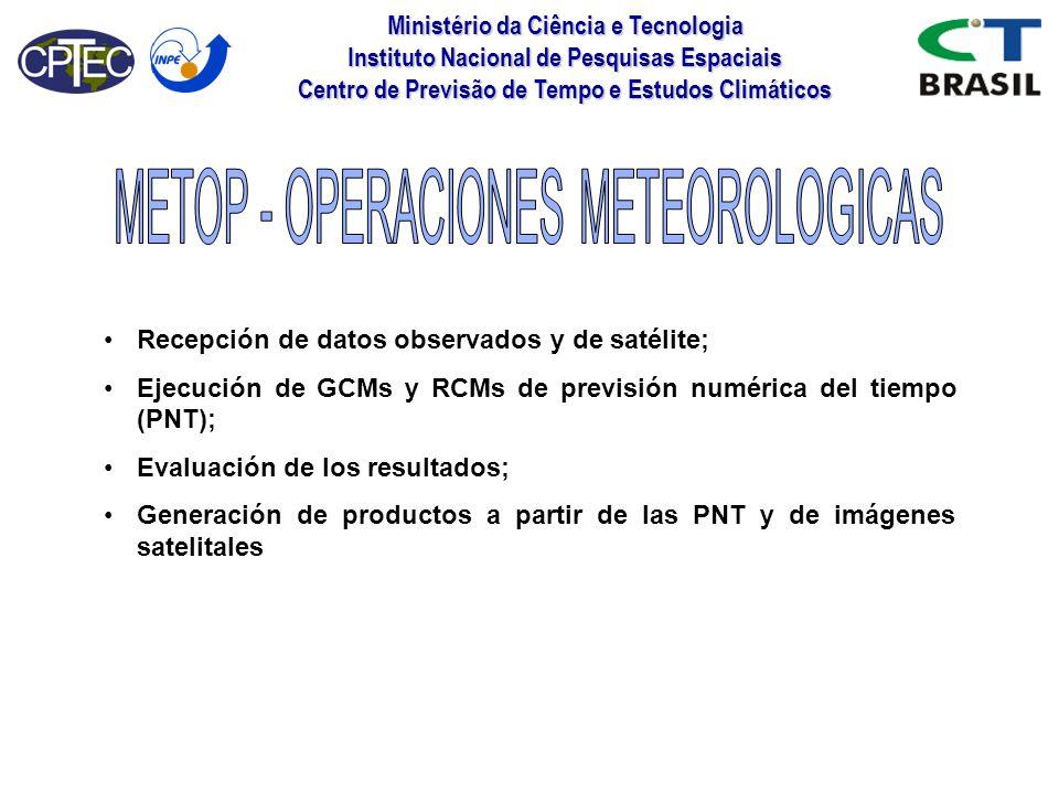 METOP - OPERACIONES METEOROLOGICAS