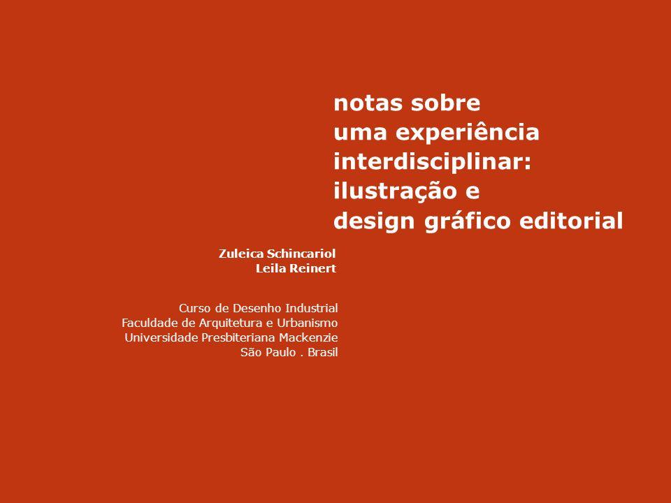 uma experiência interdisciplinar: ilustração e