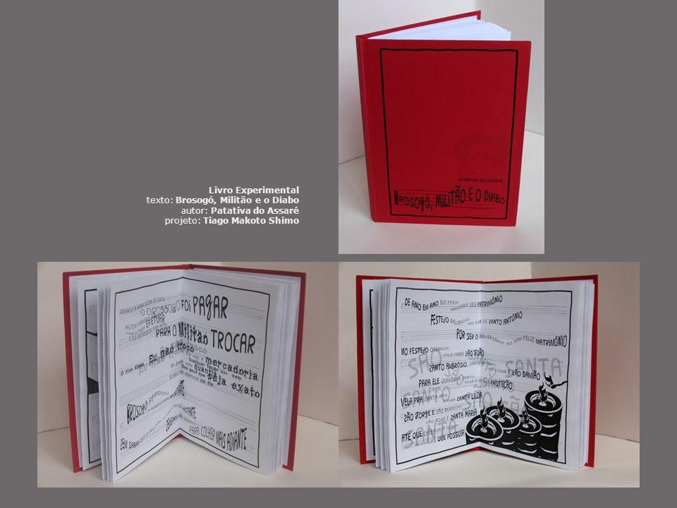 Livro Experimental texto: Brosogó, Militão e o Diabo.