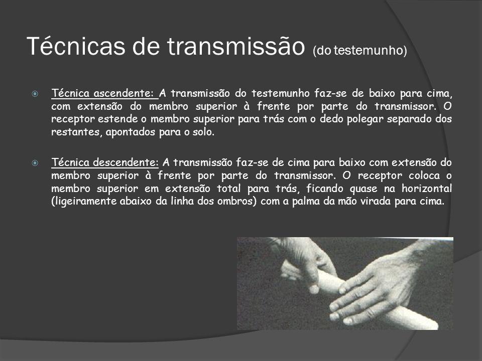 Técnicas de transmissão (do testemunho)
