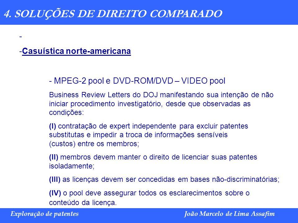 4. SOLUÇÕES DE DIREITO COMPARADO