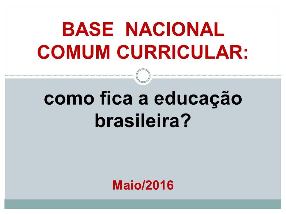 BASE NACIONAL COMUM CURRICULAR: como fica a educação brasileira