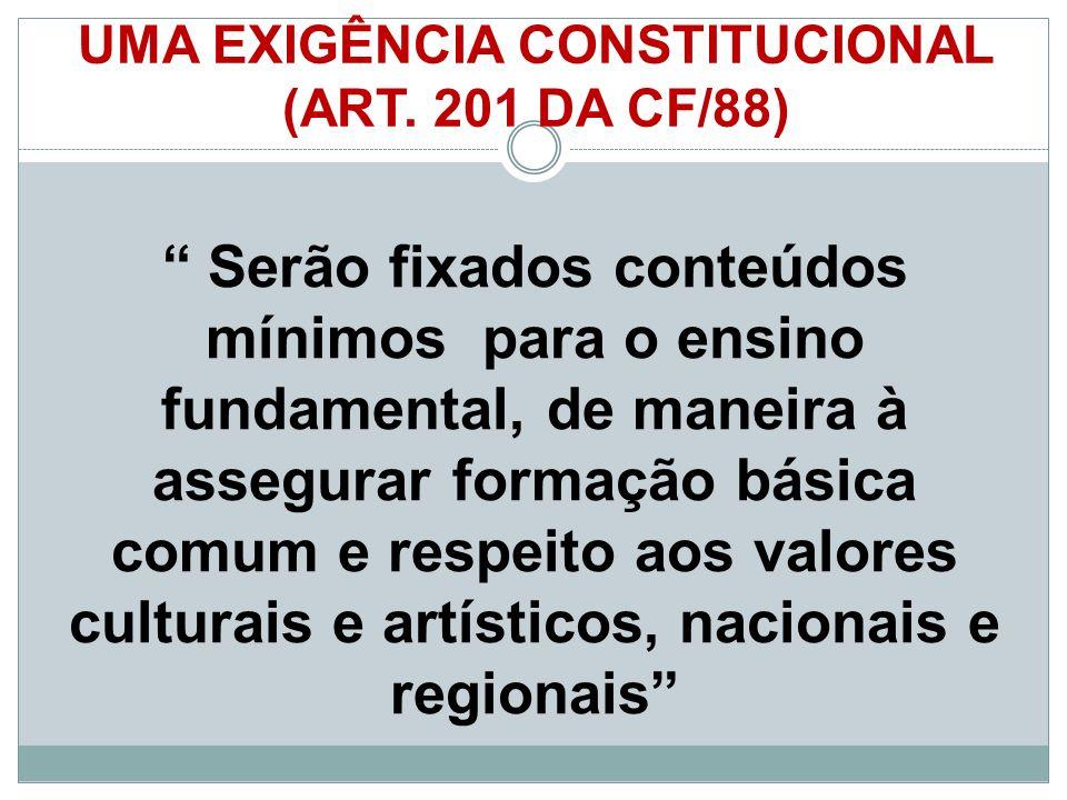 UMA EXIGÊNCIA CONSTITUCIONAL (ART. 201 DA CF/88)