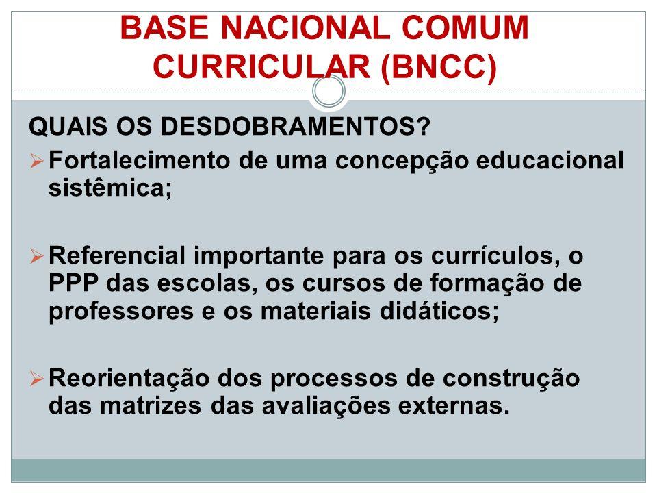 BASE NACIONAL COMUM CURRICULAR (BNCC)