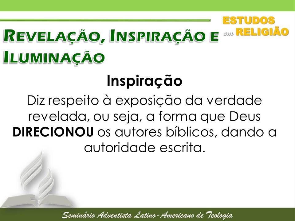 Revelação, Inspiração e Iluminação