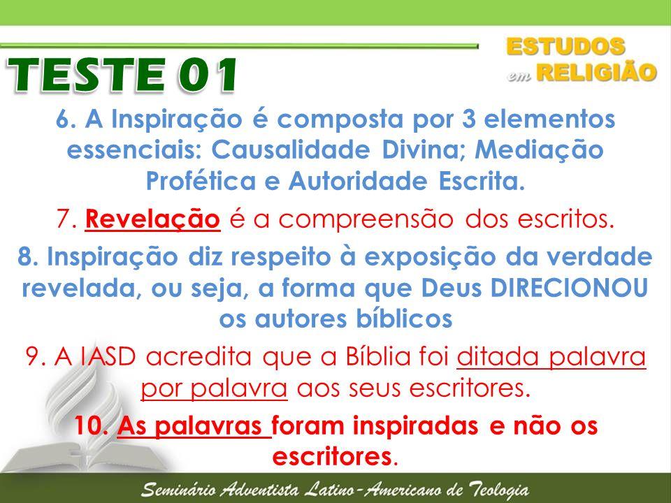 TESTE 01